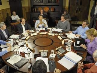 Mesa redonda del G-8