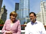 Merkel y Rajoy