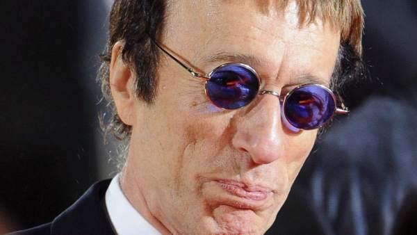 El fallecido cantante de los Bee Gees, Robin Gibb