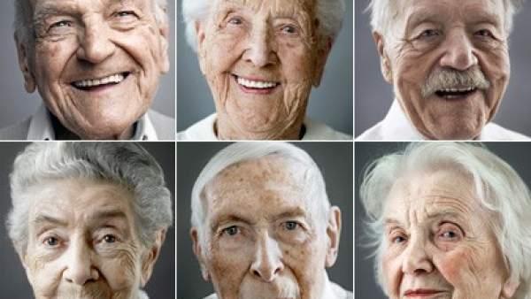 Rostros de centenarios