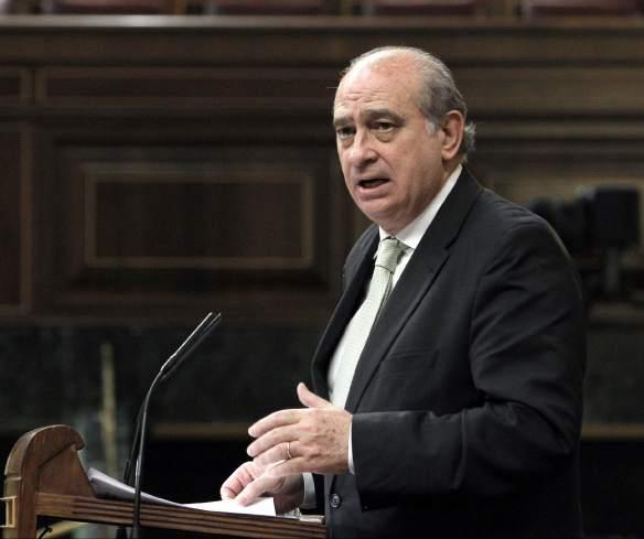 Interior cree que el ministro y altos mandos policiales no for Escuchas ministro del interior