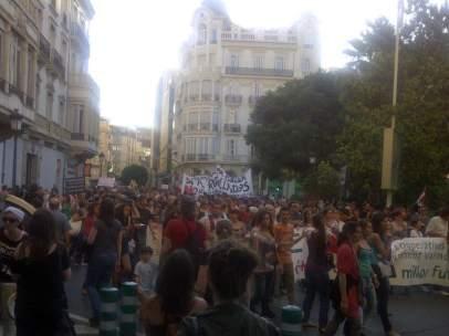 Manifestación por la educación en Valencia
