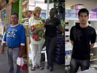 Inmigrantes en Madrid
