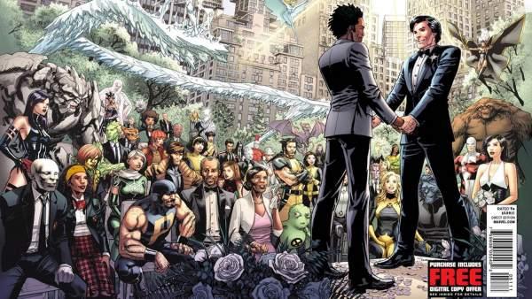 Matrimonio Tema Marvel : Marvel anuncia la boda gay de uno de sus superhéroes