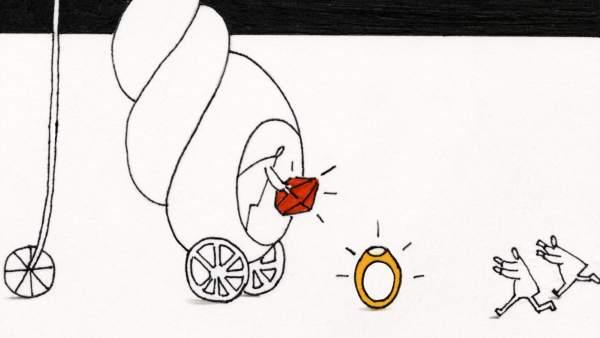 Ilustración sobre una herencia