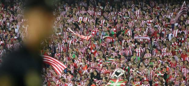 Afición Athletic de Bilbao en la Final de la Copa del Rey