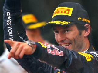 Webber, ganador