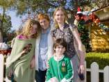 Cynthia Nixon y familia