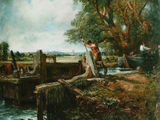 'The lock', de John Constable