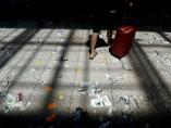 Huelga de limpieza en El Prat