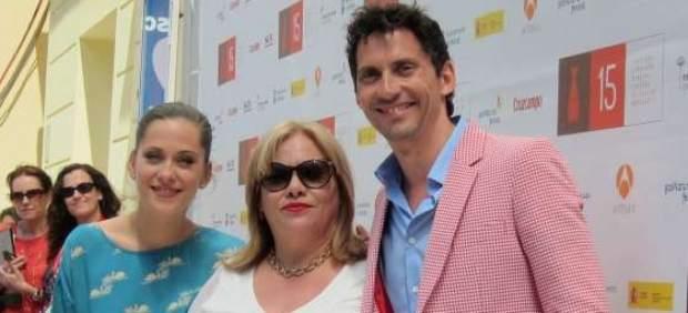 Paco León, León and Maria Carmina Barrios