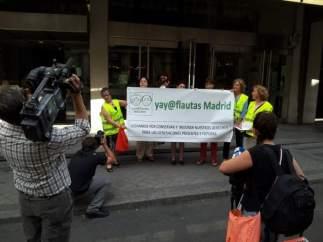 Yayoflautas en Madrid