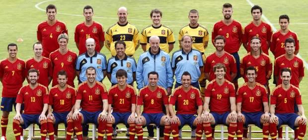 Foto oficial de España