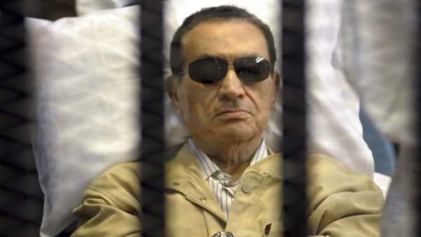 Mubarak, en su juicio