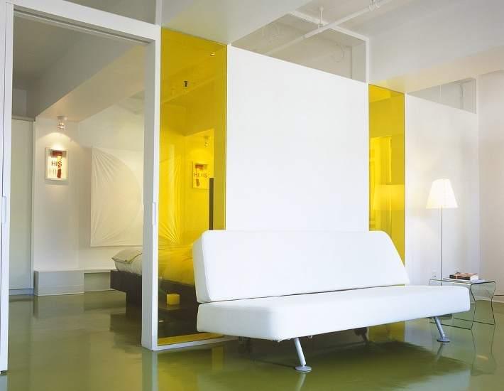 Algunas ideas para separar espacios en un estudio o 39 loft 39 - Ideas para decorar un loft ...