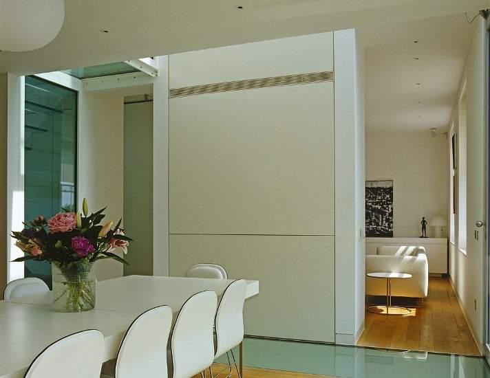 Algunas ideas para separar espacios en un estudio o 39 loft 39 for Dividir cocina comedor