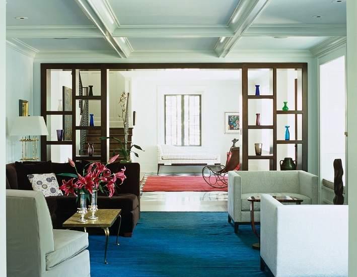 Algunas ideas para separar espacios en un estudio o 39 loft 39 - Estanterias para separar ambientes ...