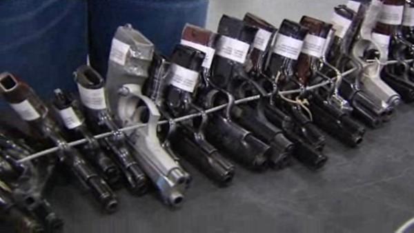 La Guardia Civil subasta 3.000 armas