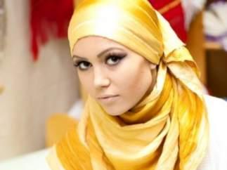 Una imagen del primer festival de moda musulmana en Rusia.