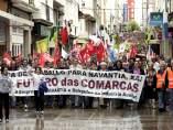 Marcha del sector naval en Ferrol