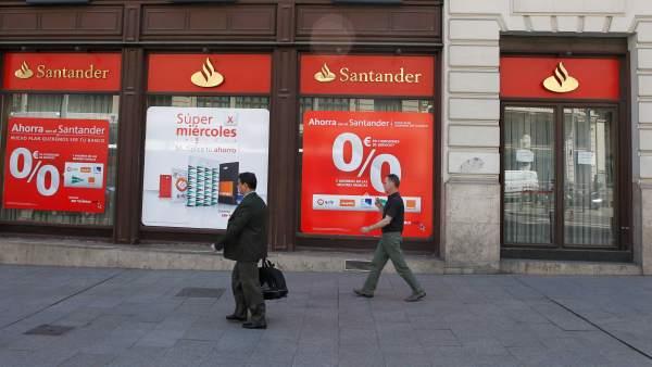 El santander no encuentra el ingreso de euros que for Oficinas banco santander en barcelona
