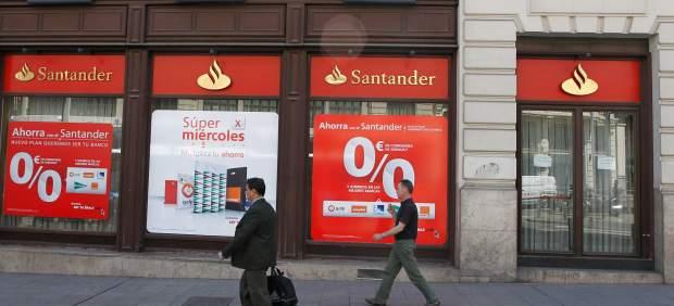 Los beneficios del banco santander caen un 51 en el for Banco santander abierto sabado madrid