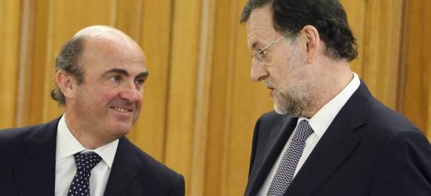 Rajoy y De Guindos