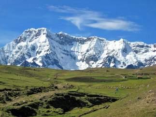 El nevado Ausangate, en Perú
