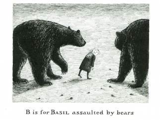 'B is for Basil assaulted by Bears'