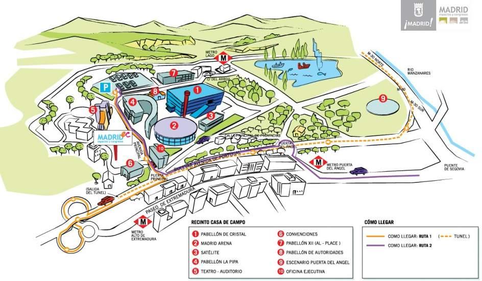 El ayuntamiento paraliza la inauguraci n de una discoteca - Mapa de la casa de campo ...