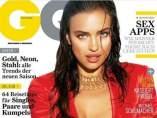 Irina Shayk, portada de la revista 'GQ'.