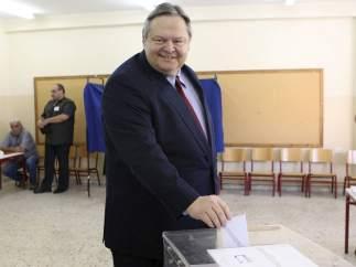 Venizelos vota