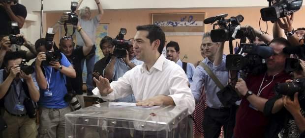 Tsipras, líder de Syriza