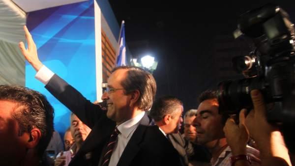 Los partidarios del euro ganan las elecciones en Grecia