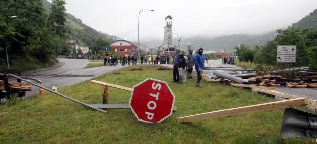 22 días de huelga minera
