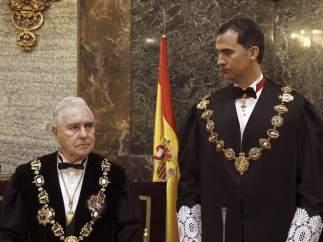 Dívar y el príncipe de Asturias