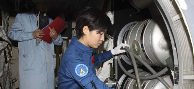 Astronauta china