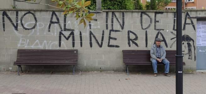 'No al fin de la minería'