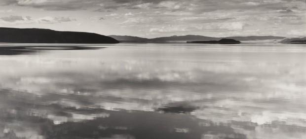 'Reflections at Mono Lake, California, 1948'