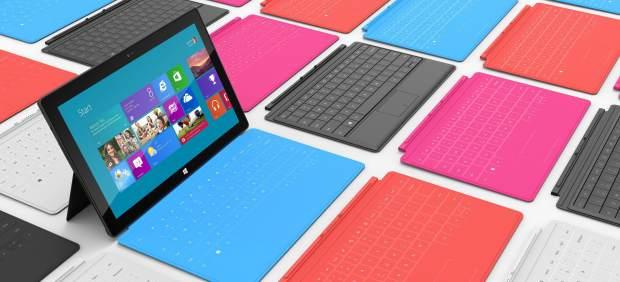 Surface, la tableta de Microsoft, se convierte en un éxito en Internet