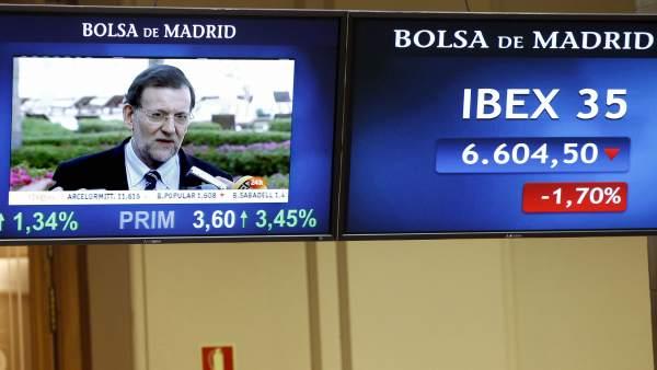 Mariano Rajoy y el Ibex-35