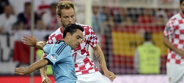 Xavi ante Croacia