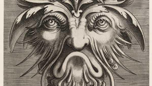 'Grotesque Mask'