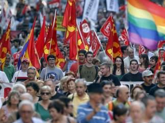 Los sindicatos convocan 58 manifestaciones para el 20-J
