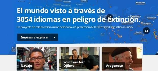 El aragonés, el asturiano y la lengua de signos catalana están en peligro, según Google
