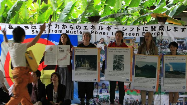 Activistas antinucleares