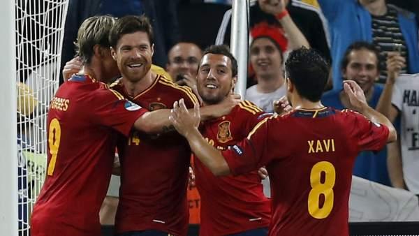 Segundo gol de España