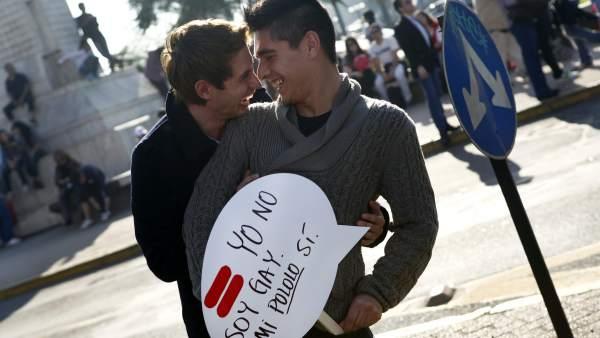 """""""Yo no soy gay, mi novio sí"""""""