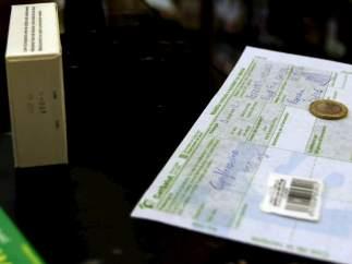 Pago de un euro por receta en una farmacia de Cataluña