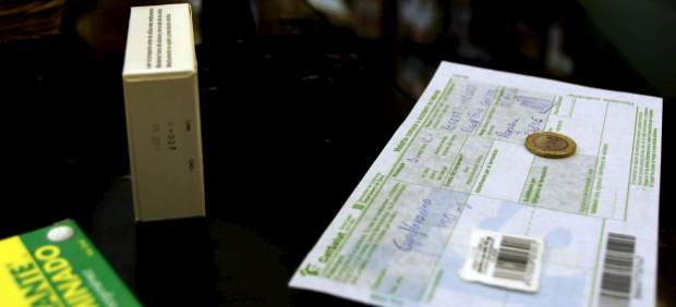 Pago de un euro por receta en una farmacia de Catalu�a
